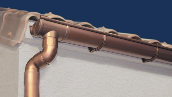 Canali di gronda in PVC