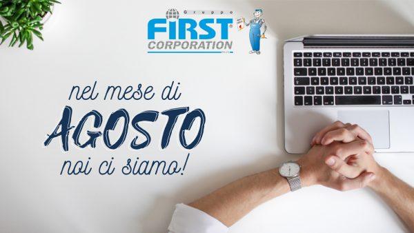 Operatività Gruppo First - Agosto 2020