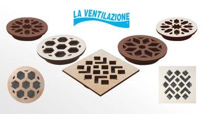 Griglie d'Aerazione in Ceramica