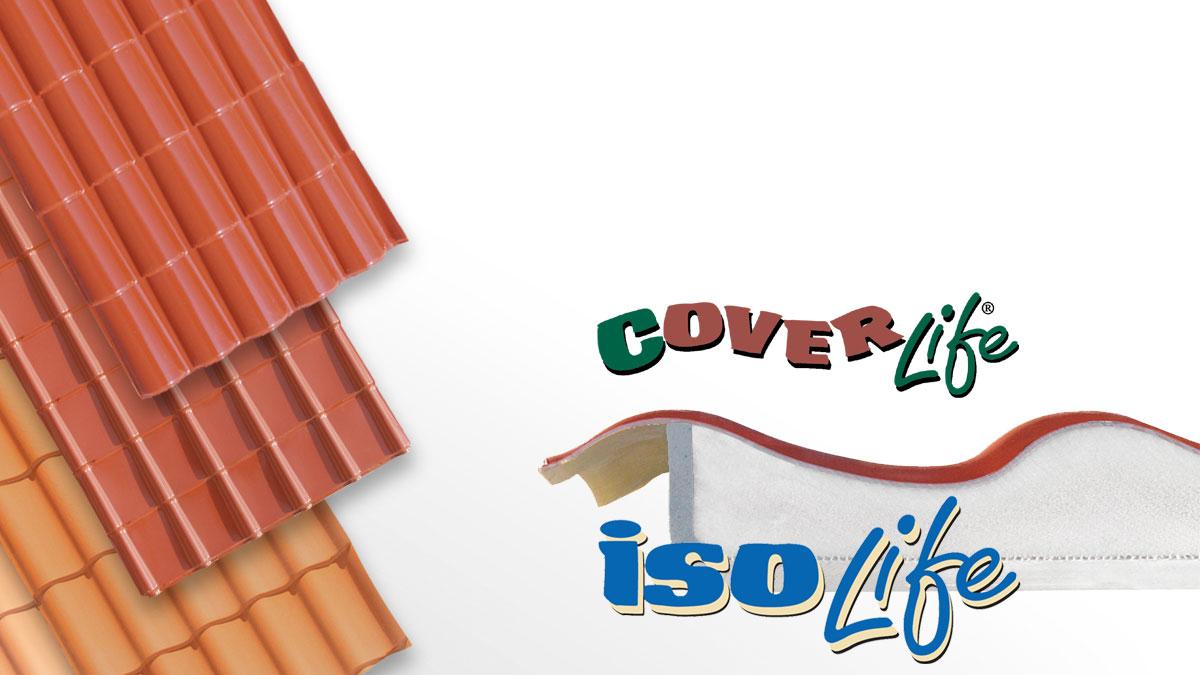 Lastre coibentate linea Cover-Life
