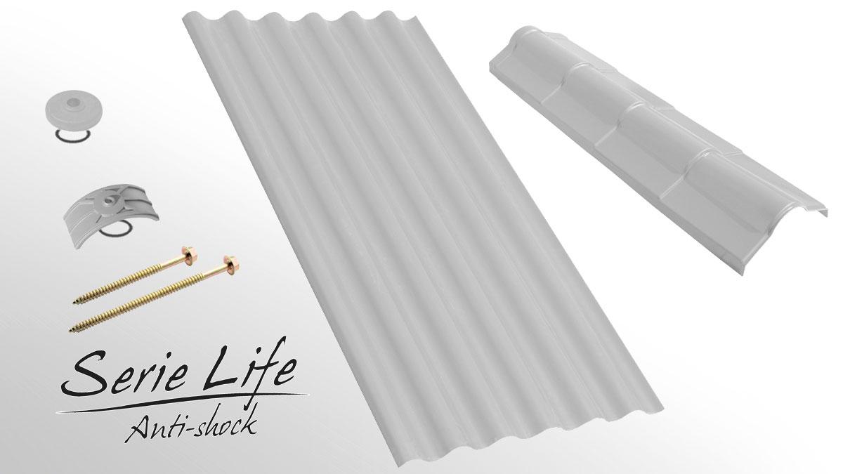 Lastra di copertura industriale - Onda Life