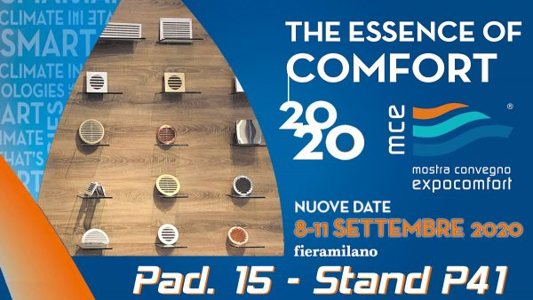 Mostra Convegno Expocomfort 2020 - Rinviata